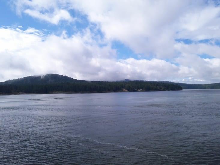 Vue du ferry