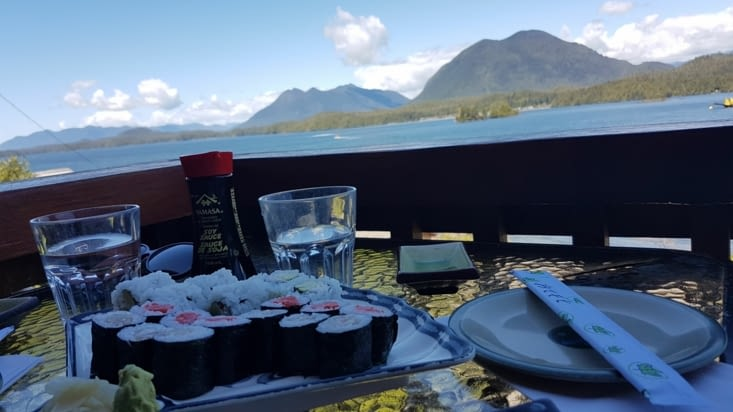 Sushi bar au top