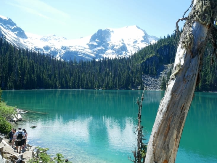 Le middle lake toujours plus vert