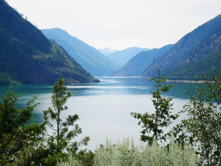 On the road to Lillooet