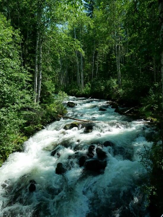 Balade à Moul falls