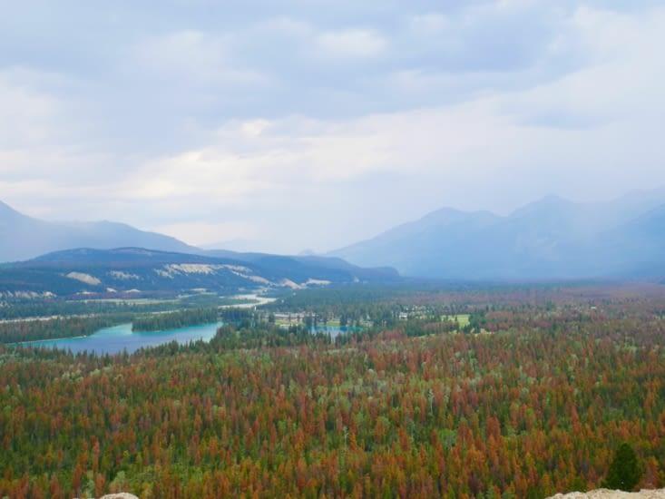 Magnifique vue sur la vallée