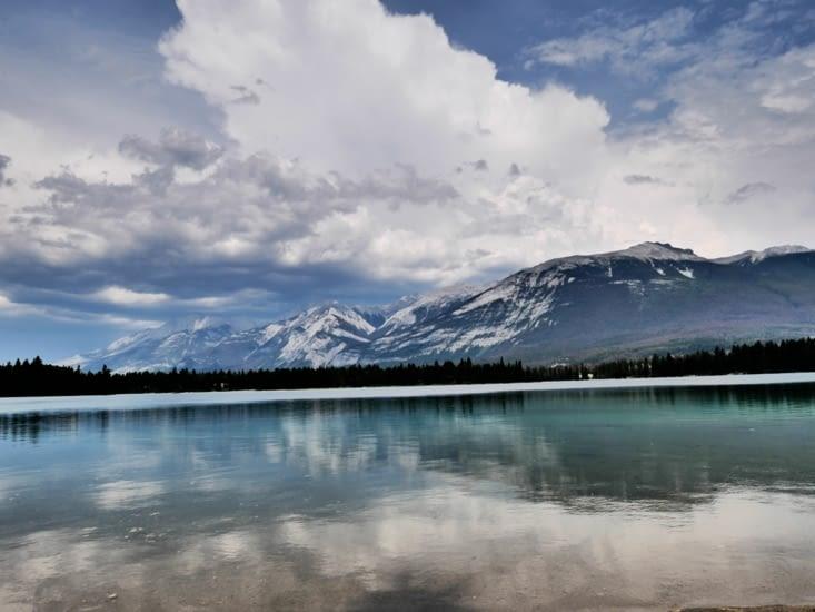 Sieste au lac Edith