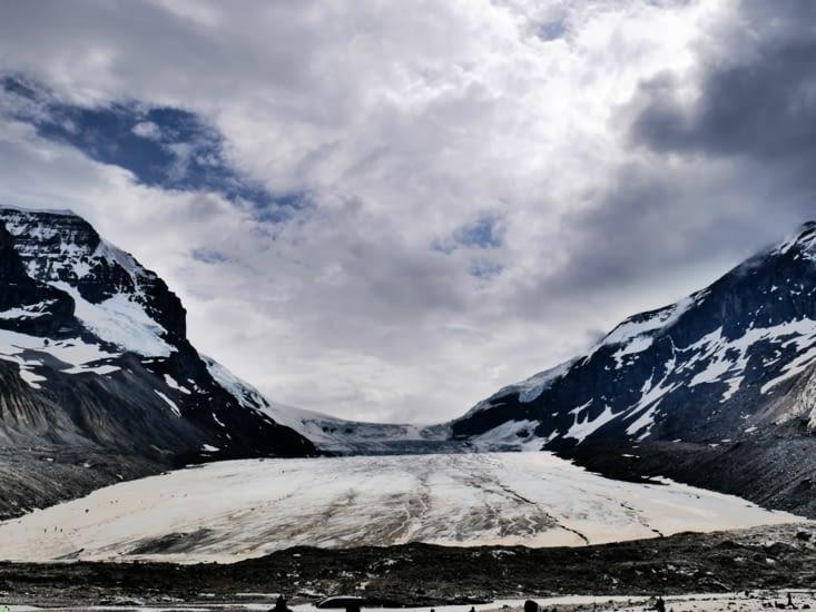 Le bas du glacier