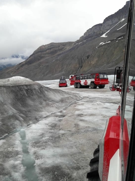 Direction Columbia Icefield