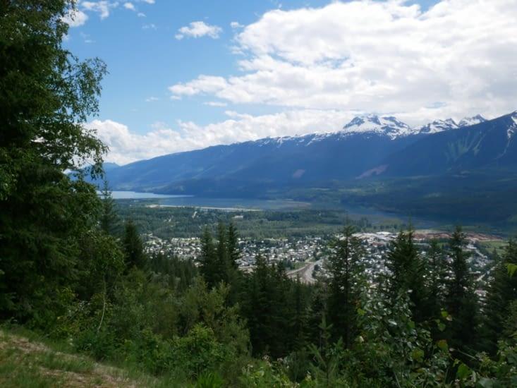 Panorama sur Revelstoke