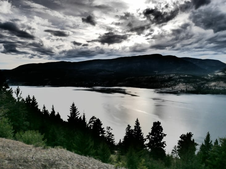 Superbe vue sur le lac Okanagan