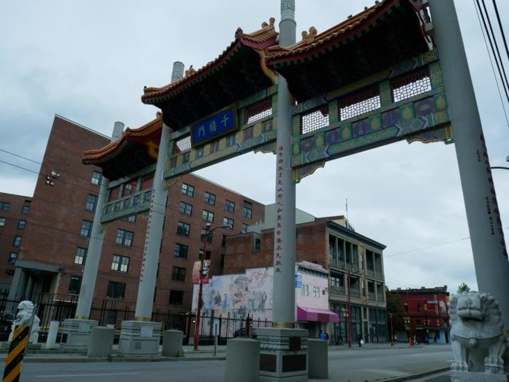 Entrée dans Chinatown