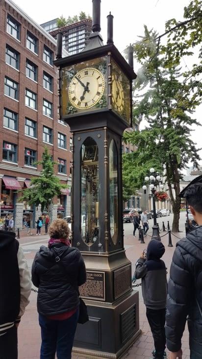 Première horloge à vapeur au monde