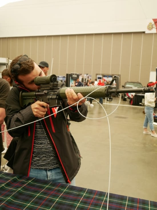 Séance shooting