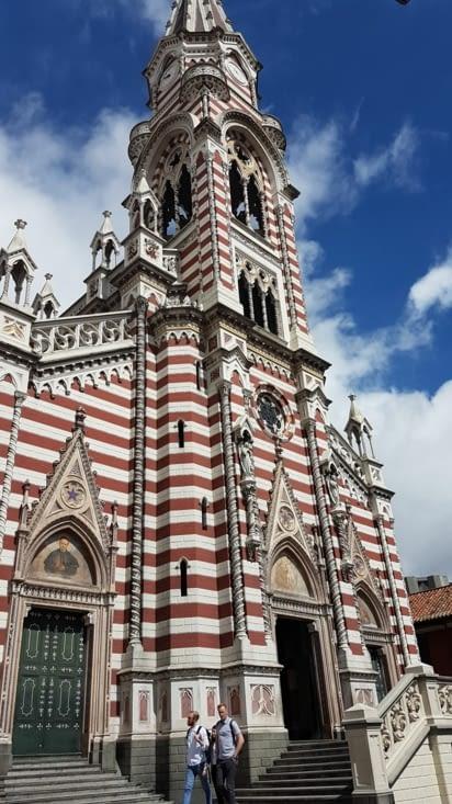 Église colorée