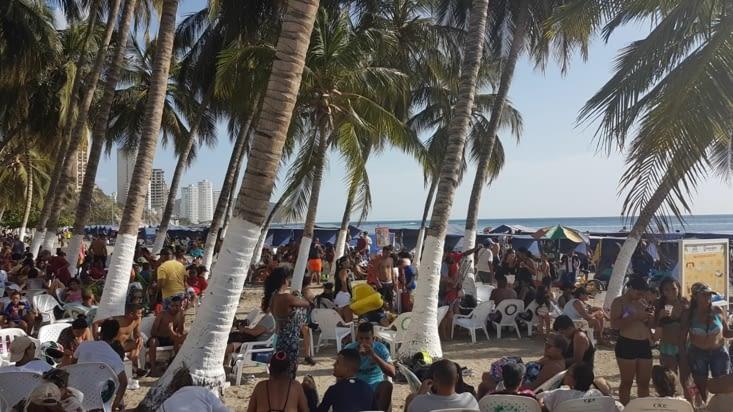Pas trop de monde sur la plage !