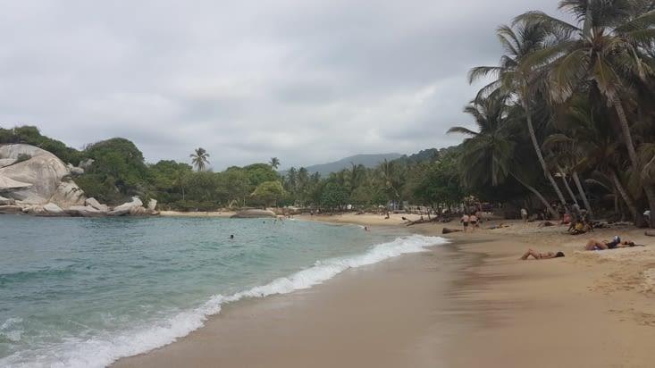 Arrivée à Cabo San Juan
