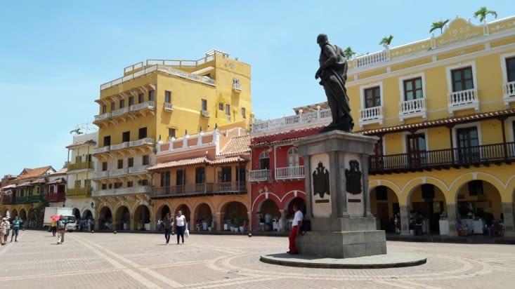Place du centre historique