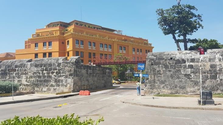 Sortie des fortifications