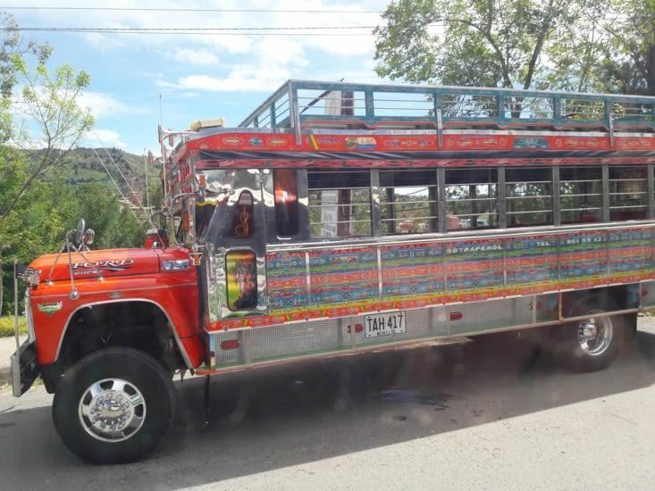 Bus colombien