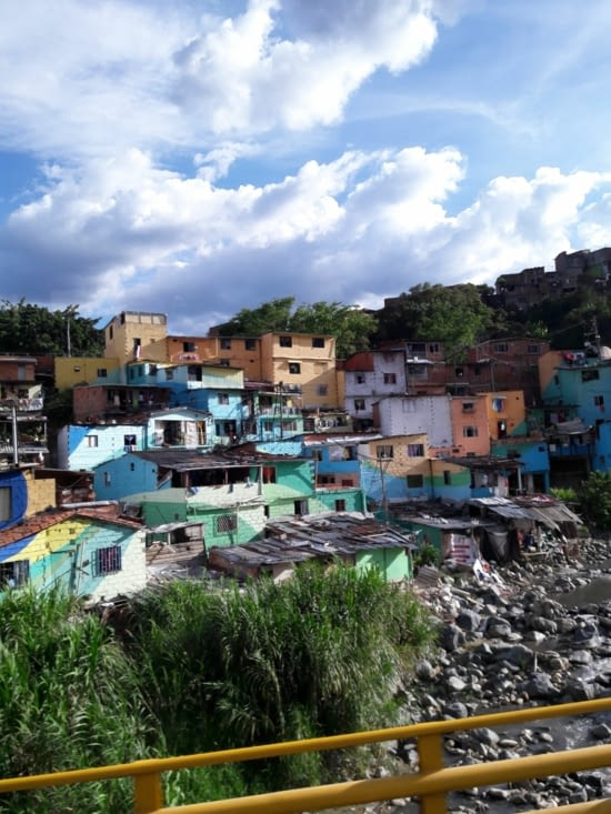 Maisons colorées de Medellin
