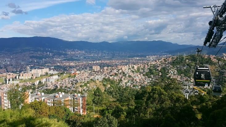 Vue sur Medellin