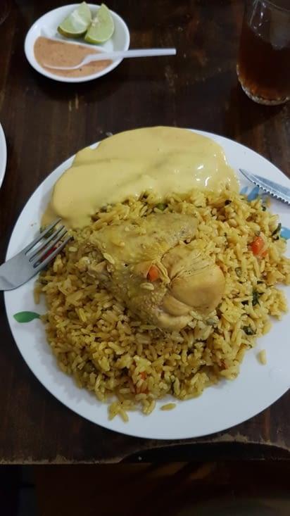 Combo Patates riz