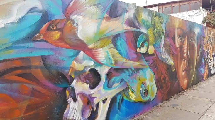 Peinture murale Lima