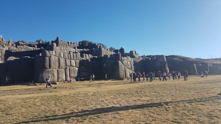 Forteresse Inca au dessus de Cusco
