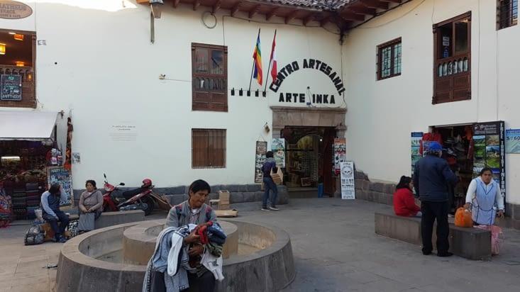 Petite place dans cusco