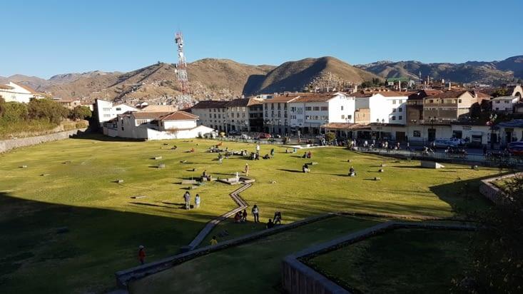 Ruine du temple du soleil Cusco
