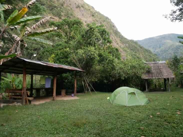 Camping pour la nuit !