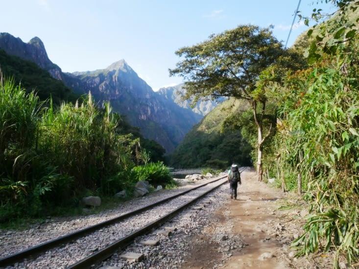 Le long des rails direction Hydroelectrica