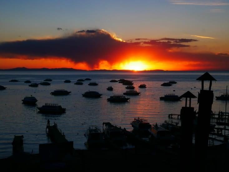 Et notre magnifique coucher de soleil 🌅