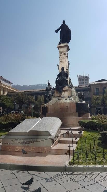 La plaza Murillo !