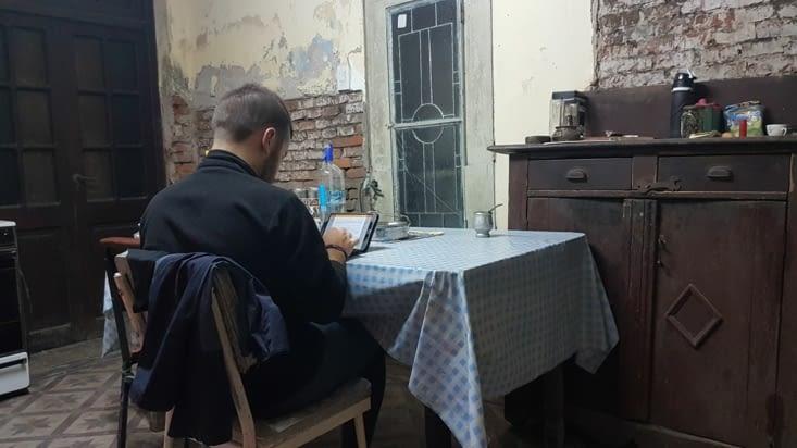 Salle de rédaction de l'AGengence