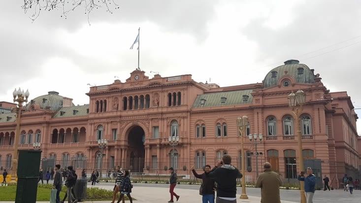 La casa rosada présidentielle