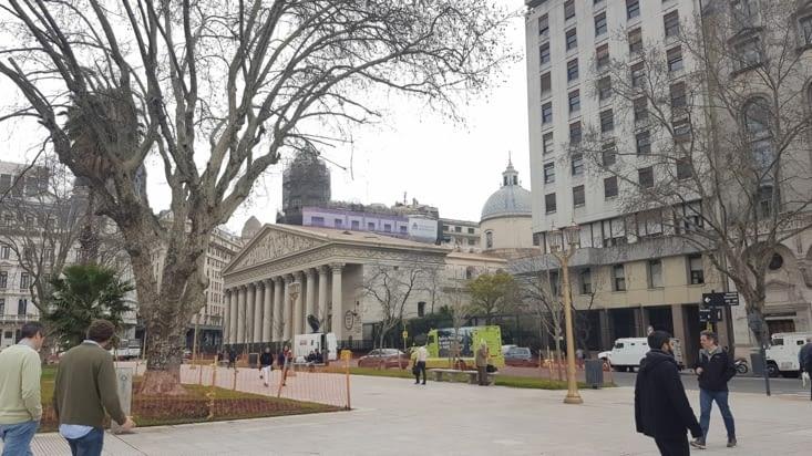 Vue de la plaza mayor