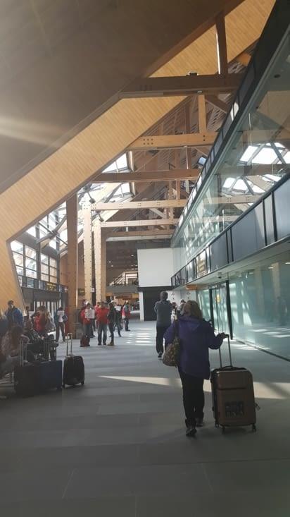 Aéroport chalet