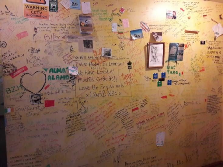 Mur de l'auberge