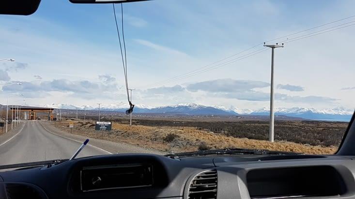 Arrivée panoramique