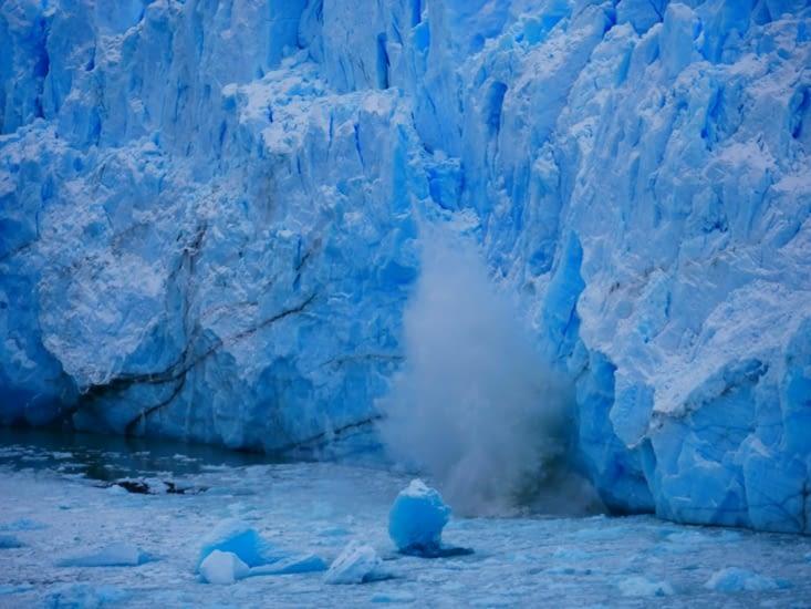 Chutes de glace