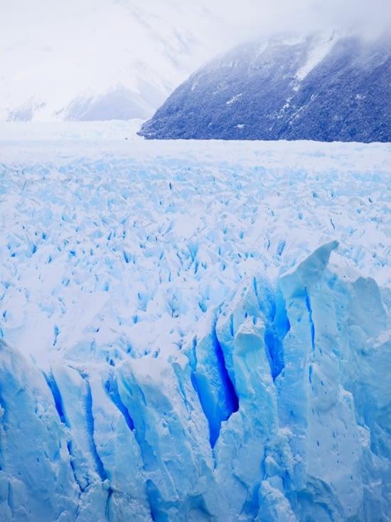 Véritable champ de glace