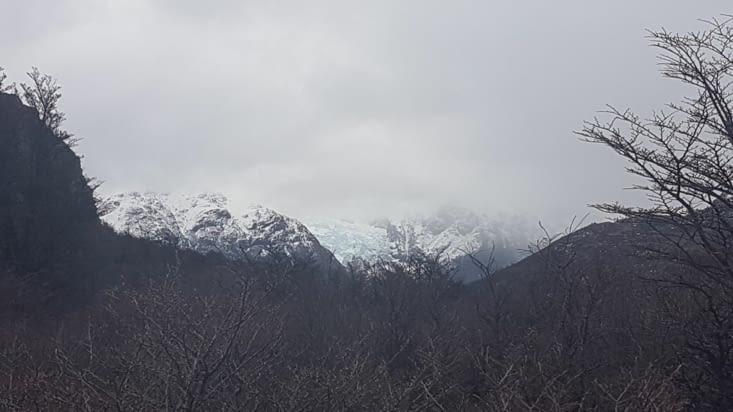 Dernier point de vue sur le glacier