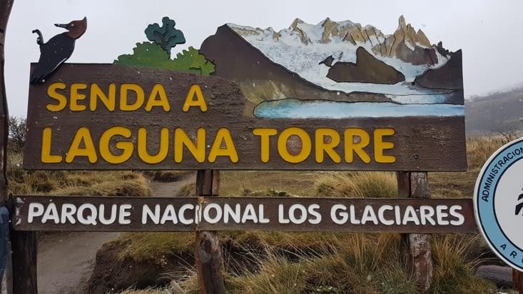 Direction la Laguna Torre