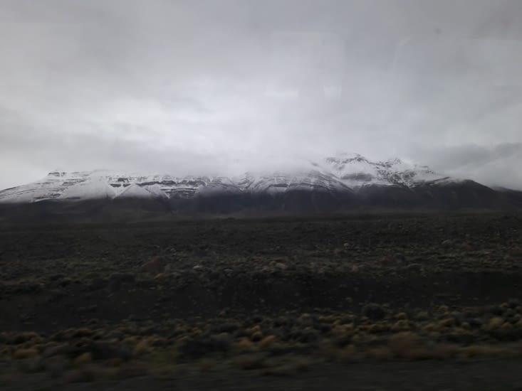 Et les montagnes enneigées