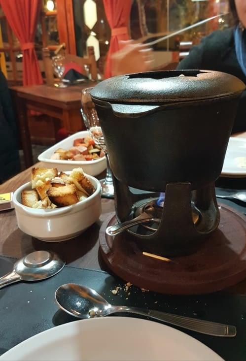 Quoi de mieux qu'une bonne fondue pour finir la journée ?!