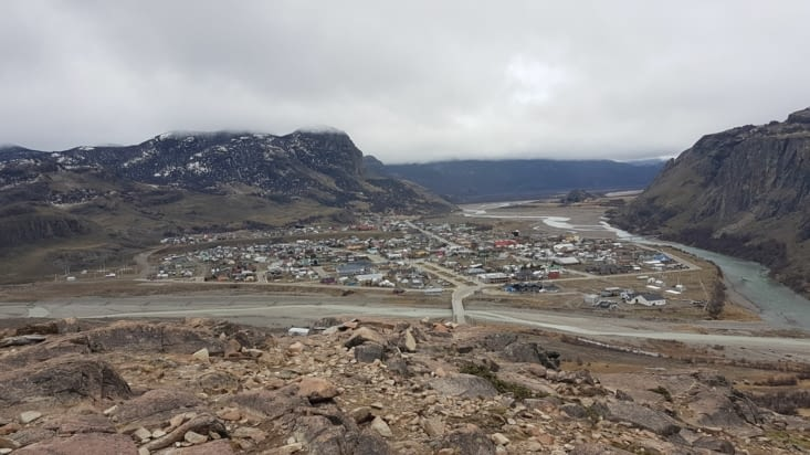 Vue sur cette petite ville depuis le Mirador de los Condores