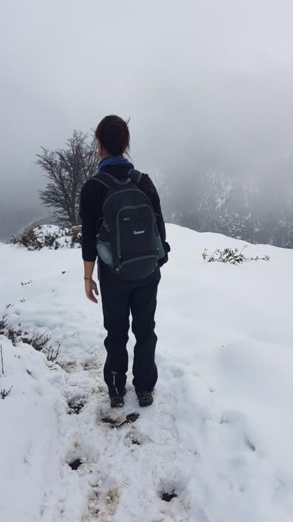 Le plaisir de retrouver la neige !