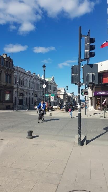 Arrivée centre ville