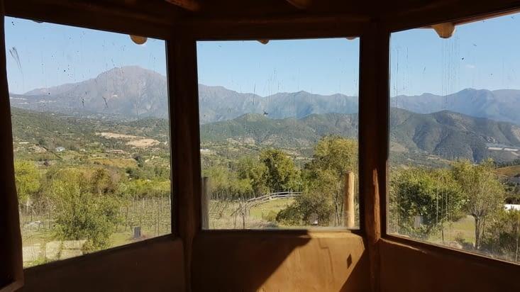 Sympa la vue de la chambre de l'étage !
