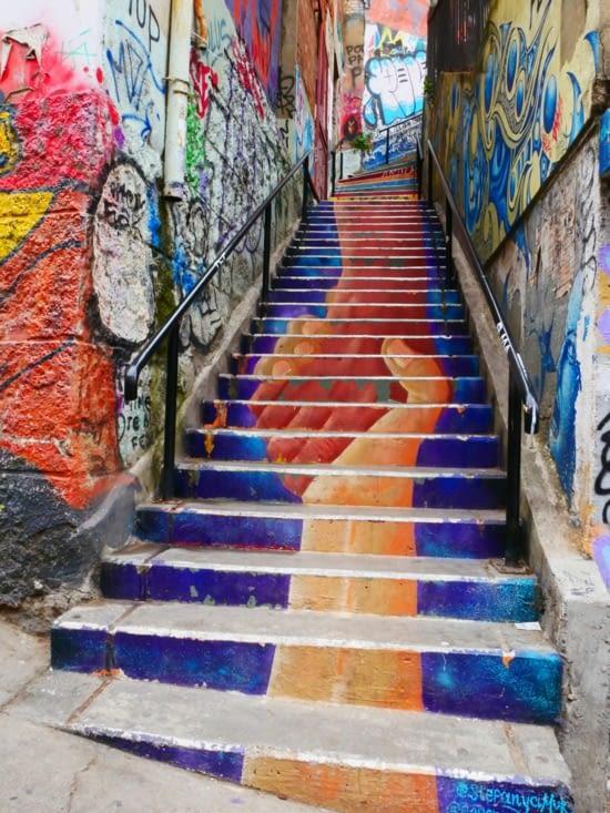 Artiste d'escalier !