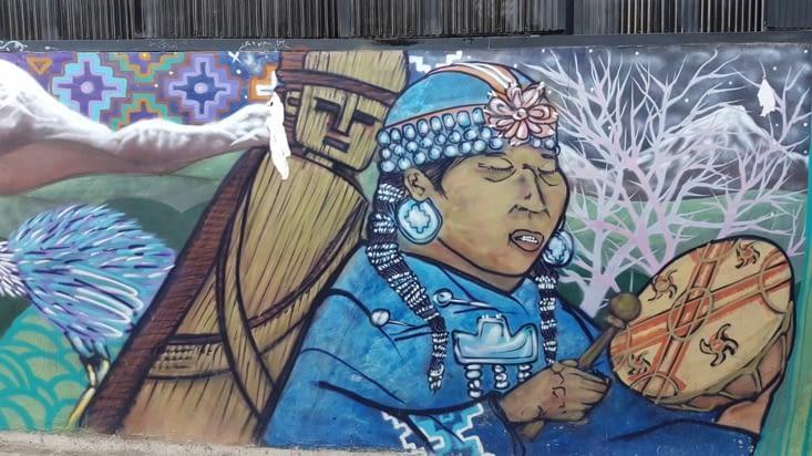 Représentation des mapuches