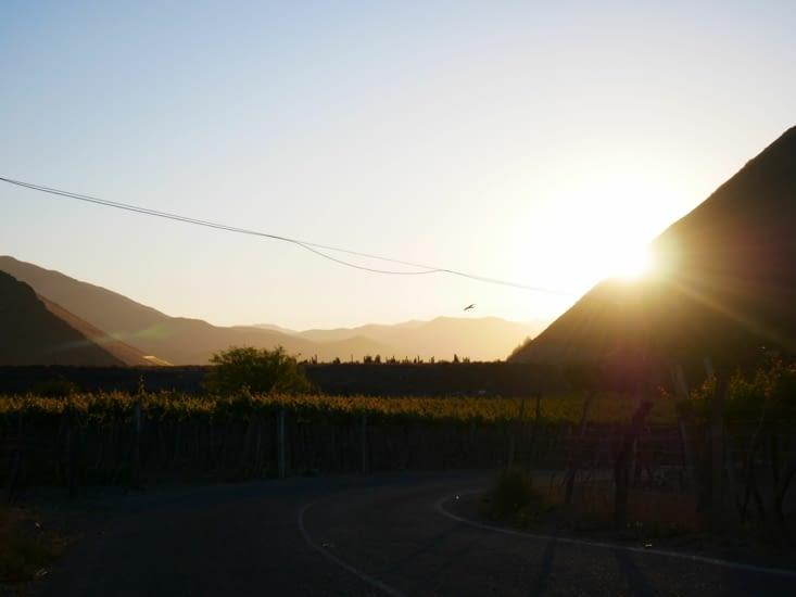 Et un couchant de soleil pour finir cette belle journée